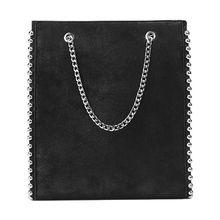 Women Leather Chain Rivet Shoulder Bag Lady Crossbody Tote Messenger Satchel Premium Quality