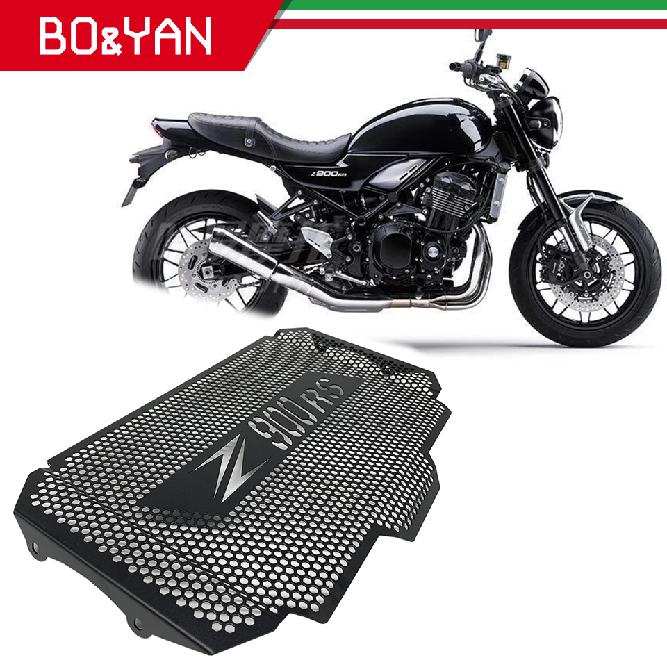 For <font><b>kawasaki</b></font> <font><b>Z900RS</b></font> <font><b>Z900</b></font> <font><b>RS</b></font> 2018 2019 Motorcycle Radiator Guard Grille Cover Cooler protection cover image