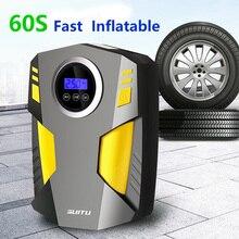 цена на Portable Car Air Compressor DC 12V Digital Tire Inflator Air Pump 150 PSI Auto Air Pump for Car Motorcycle LED Light Tire Pump