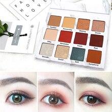 NOVO brand Marble Eye shadow disc 15 color eye shadow Beginner Lasting waterproo