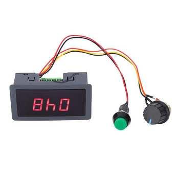 PWM Speed Controller CCM5D Digital DC Display Motor Governor 6V 12V 24V Adjustable Stepless Speed Controller pwm dc 6v 12v 24v 28v 3a motor speed control switch controller