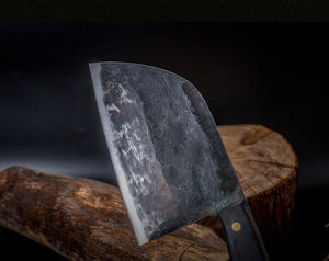 Image 5 - XITUO Full Tang Chef Knife Handmade Forged High carbon Clad Steel Kitchen Knives Cleaver Filleting Slicing Broad Butcher knife