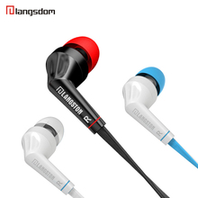 Original JD88  Stereo 3.5mm In Ear Headset Earphone Wired Earphones Super Bass Sound Earbud with Mic for Phones MP3 MP4 Computer