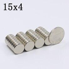 30/60/100Pcs 15x4 Neodymium Magnet…