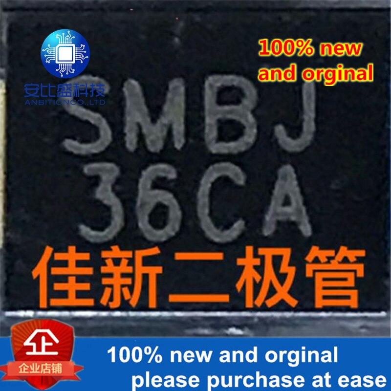 50pcs 100% New And Orginal SMBJ36CA 36V DO-214AA BIDIRECTIONAL TVS Protected Diode In Stock