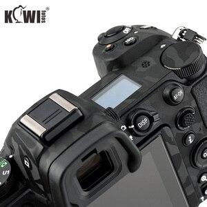 Image 3 - Cubierta de Cuerpo de Cámara antiarañazos, etiqueta de protección 3M para Nikon Z7 Z6, soporte de agarre antideslizante, Protector de piel, sombra, negro