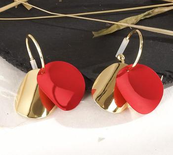 Round Vintage Drop Earrings Earrings Jewelry Women Jewelry Metal Color: H22200