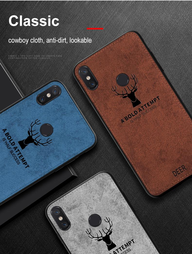 Classic Cloth Matte Skin Soft Fabric Phone Case Made Of Cloth Material And Soft TPU Material 11