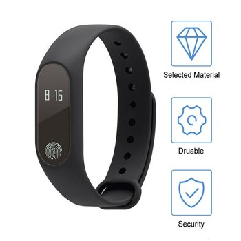 цена на 0.42 Inch OLED Screen APP Message Reminder Smart Watch Fitness Tracker Heart Rate Monitor Smart Wrist Watch