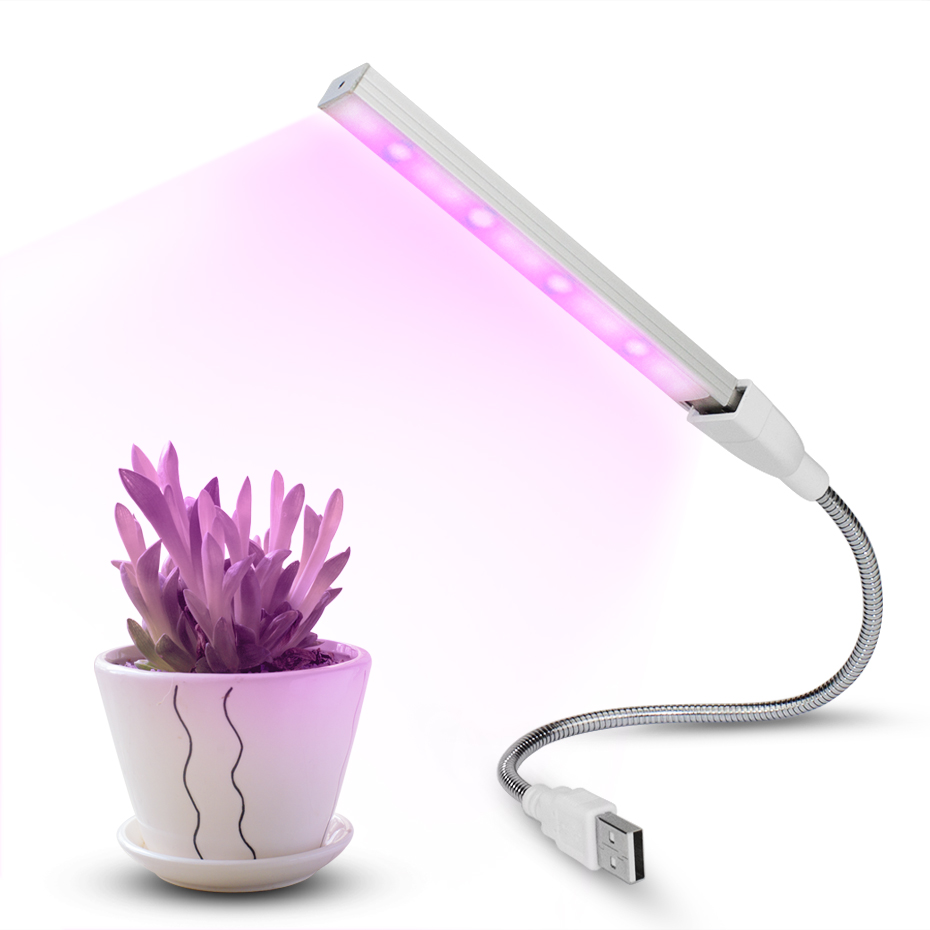 Growing Lamps USB Led Lamp For Plants 3W UV IR Led Lamps For Plants Indoor Flowering Vegs Potted Plants Growth Light