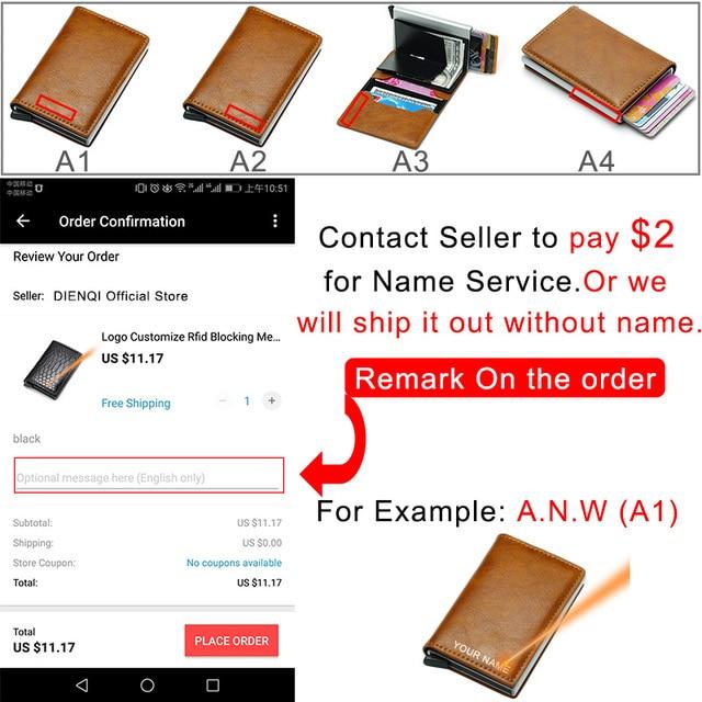 2019 Card Holder leather Wallet Money Bag  Purse 5