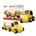 49 pièces magnétique voiture véhicule Construction ingénierie blocs de Construction ensemble d'apprentissage enfants en plastique jeu Puzzle jouets cadeaux pour enfant
