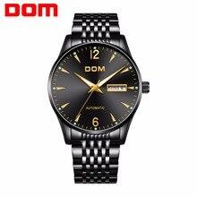 2020 new DOM Mechanical Watches Top Brand Luxury Automatic Mens Watch Luminous Casual Fashion Waterproof Business Watch Men цена и фото