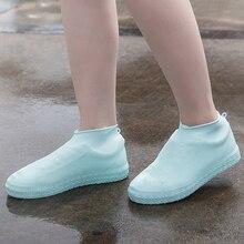 Водонепроницаемые чехлы для обуви Велоспорт дождь многоразовая обувь силиконовые латексные эластичная обувь Чехлы обувь Защищённая аксессуары пылезащитные чехлы
