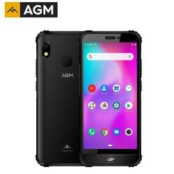 AGM A10 128G прочный мобильный телефон Android™9 Передняя Колонка 5,7 дюймHD 4400mAh IP68 водонепроницаемый смартфон Поддержка sd-карты