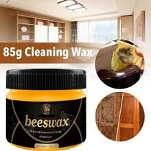85G Hout Kruiden Bijenwas Oplossing Meubels Bijenwas Huis Schoonmaken Reinigt Houten Meubelen Houten Kasten Poetsmiddelen Natuurlijke Glans
