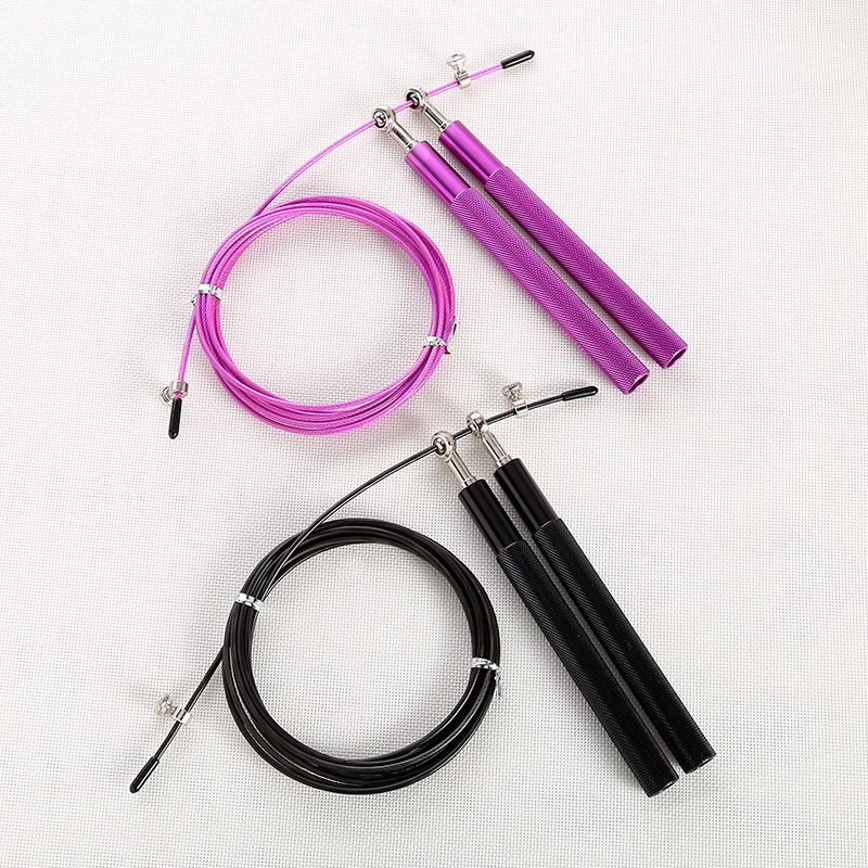 Manufacturers Currently Available Wear-Resistant Aluminium Alloy Jump Rope Aluminium Alloy Handle Adult Fitness Universal Bearin