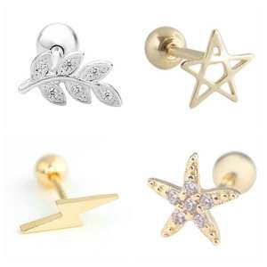 Stud-Earrings Jewelr...