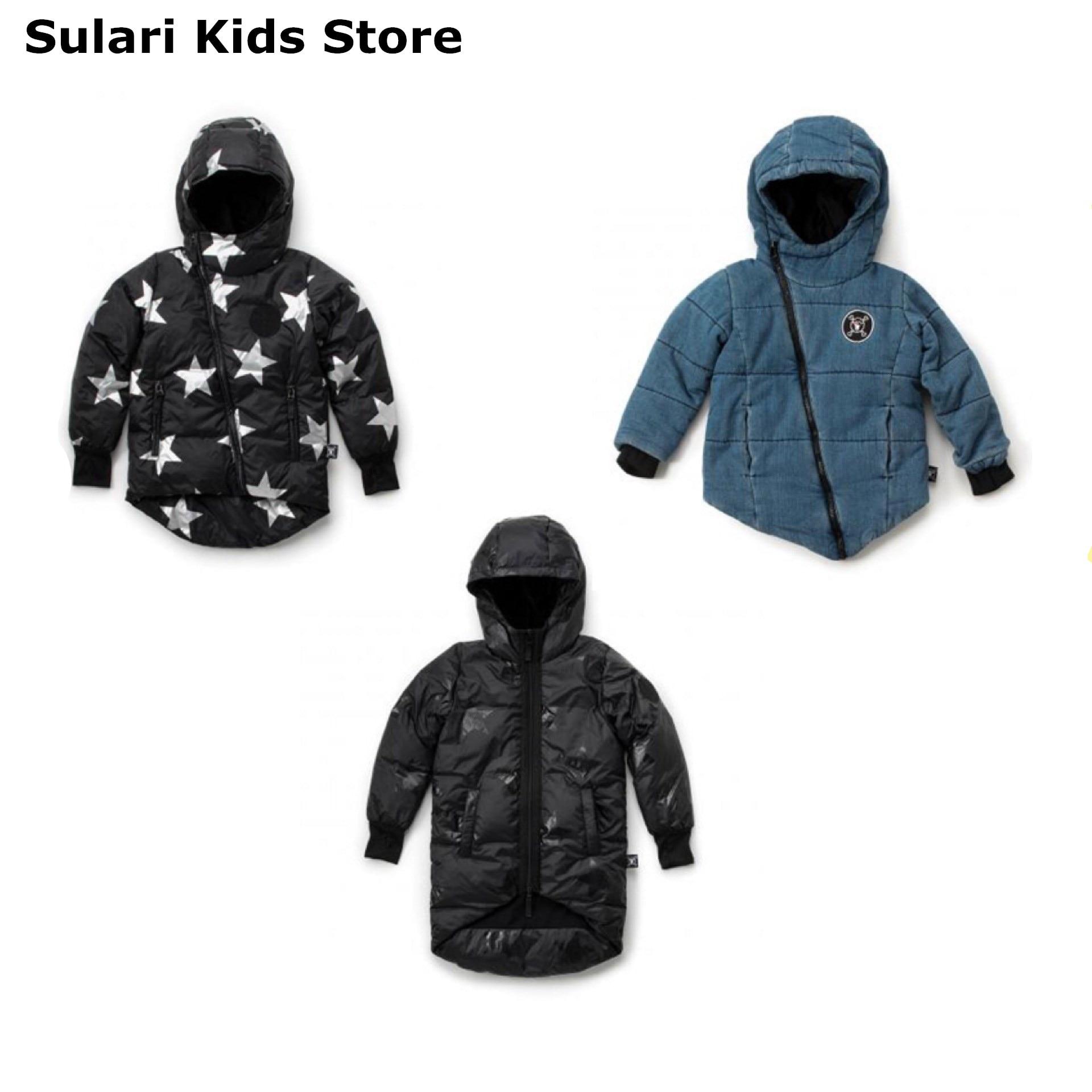Manteau en duvet jean manteau vestes hiver vêtements noël enfants vêtements fille hiver veste paillettes vestidos de invierno para bebe