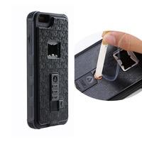 Custodia per telefono accendisigari per iPhone 6 6S Plus X XS max 8 7 coperchio apribottiglie protezione resistente nuovo