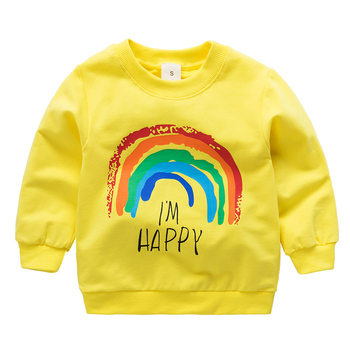 2020 New Arrival Baby boys Girls Toddler Sweatshirts Spring Autumn Children Hoodies Long Sleeves Sweater Kids T-shirt Clothes new kids sweatshirt moana costume for girls new moana princess t shirt boys sweatshirts girls hoodies baby clothes kids t shirt