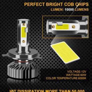 Image 3 - ZTZPIE Faro de bombilla led para coche, bombillas de luz muy brillante de 12V temperatura de color 3000K 4500K 6000K 8000K, lúmen de 12000LM, modelo de fuente H1 H4 H3 H7 H11, modelo 9005 y 9006 por 2 uds.