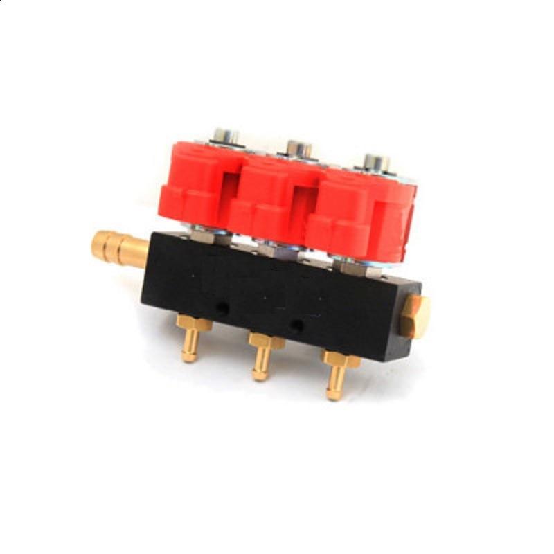 Injectoren Rail Voor Valtek 3ом Газовые Форсунки На 3 Цилиндра