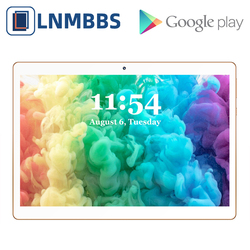 LNMBBS K107 tablet da 10.1 pollici 3G Chiamata di Telefono tablet Android 7.0 Octa Core 4G di RAM 64G ROM phablet WiFi Bluetooth GPS IPS Tablet PC
