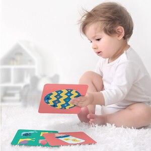 Image 5 - Babygo 80 個セットベビー学習カードおもちゃフルーツ/動物/ライフ視覚励起カード早期教育子供のためのフラッシュカード