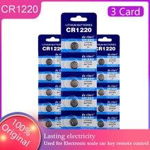 Quente 15 pces cr 1220 botão da bateria de brinquedo eletrônico remoto pilha pilas substituir dl1220 br1220 ecr1220 lm1220 kcr1220 atacado substituir