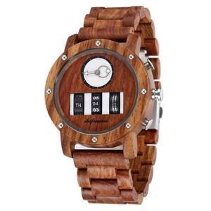 Image 4 - Mens Watch Shifenmei Brand Wood Watches Roll Army Digital Clock Chronograph Luxury New Desgins Wooden WristWatch Reloj Hombre