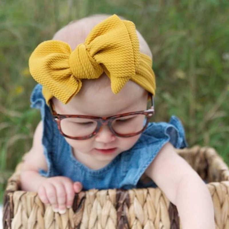 Ободки для девочек новорожденных повязка на голову детские украшения для волос для одежда для малышей повязка тканевый бант повязки для волос с бантом тюрбан