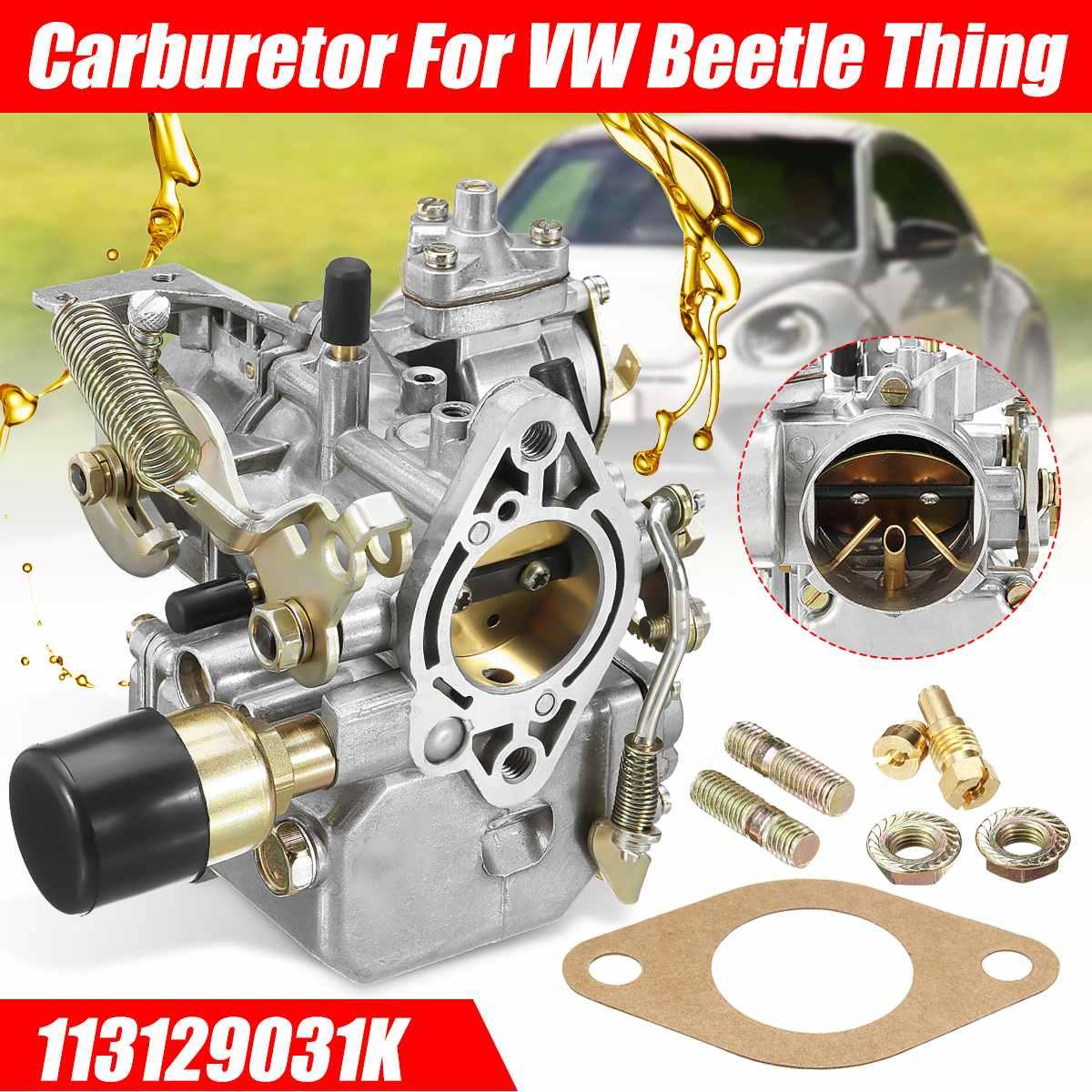 Carburateur de voiture Carb 113129031K 34PICT3 98-1289-B pour VW/Beetle transporteur chose Ghia Squareback