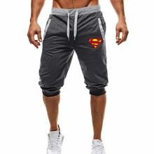 Captain America superman Printed Shorts Men Summer Leisure K
