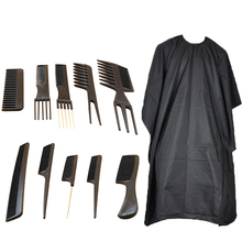 11pcs Men Barber Tools Set Beard Grooming Styling Hairdressing Salon Kit with Comb