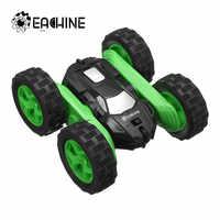 Eachine EC02 RC voiture 2.4G 4WD cascadeur dérive déformation Buggy Roll voiture 360 degrés retournement Robot véhicule modèles haute vitesse roche chenille