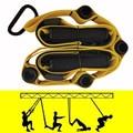 Комплект эспандеров Rooxin, подвесной ремень для тренировок, йоги, эластичный ремешок, ленты для фитнеса, упражнения дома, спортзала, тренирово...