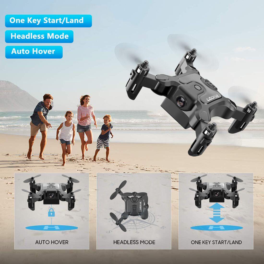 New Mini Drone V2 1080P HD Camera WiFi Fpv Air Pressure Altitude Hold Foldable Quadcopter RC Drone Kid Toy GIft 3