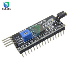 PCF8574T PCF8574 IIC/I2C / Interface LCD 1602 2004 LCD Display Module 4Pin Adapter Plate for Arduino 5v iic i2c 3 1 blue screen lcd display module for arduino green black