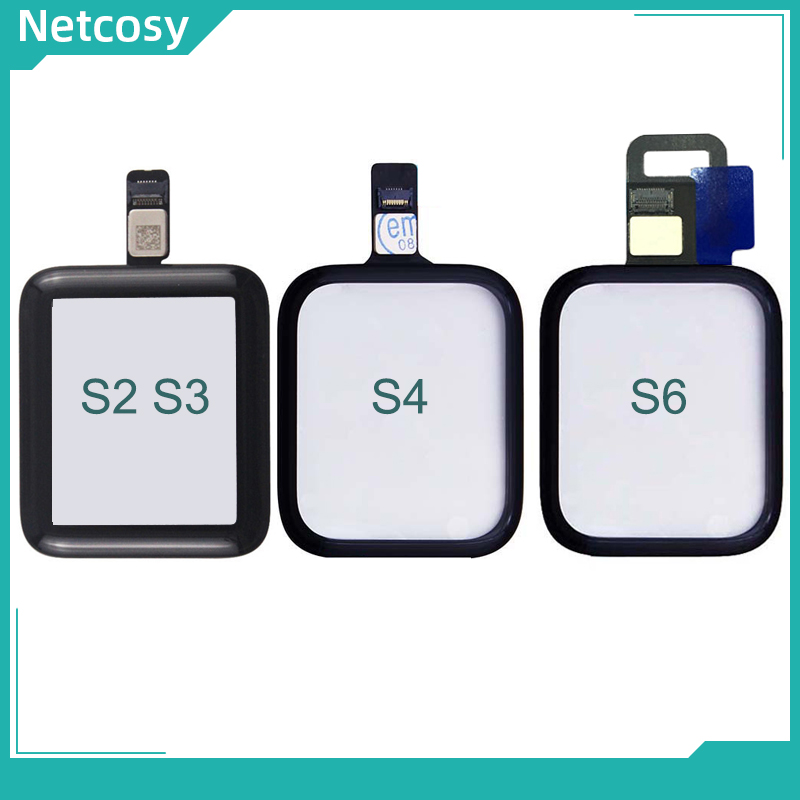 Сенсорный экран Netcosy с дигитайзером, стеклянная панель объектива для Apple Watch 38 мм 42 мм 40 мм 44 мм TP Repiar для Iwatch S2 S3 S4 S5 S6