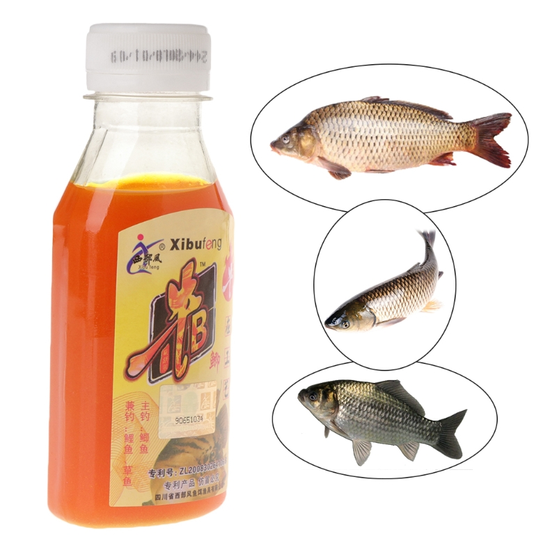 90ml Fish bait Artificial Lure additives for wild fishing crucian carp