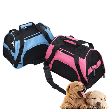 Portable Dog Cat Carrier Bag Pet Puppy Travel Bags Breathable Mesh Small Dog Cat Dogs Outdoor Tent Carrier Outgoing Pets Handbag fashion pet dog carrier bag cat outdoor travel pet carrier for small dog cat carrying bags sling puppy breathable pink yellow m