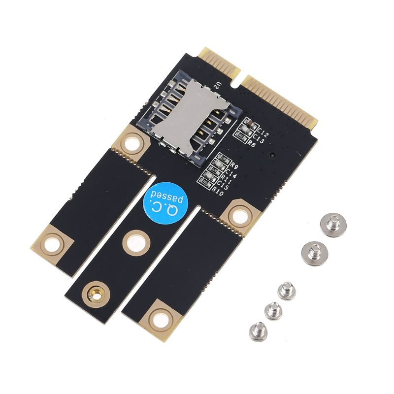 NGFF M.2 2242 To Mini Pcie 3G 4G Adapter For SIM Card Slot For EM7355 MU736 Kit 83XB