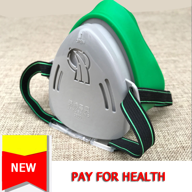 Respirator Mask Dust Mask Half Face Protection Filter For Dust-proof Spray Paint Laboratory Respirator PM2.5 Tracking Number
