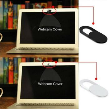 1Pcs Computer Lens Shield Cover Shutter Magnet Slider Supports Webcam Camera Privacy Phone Protection Sticker Mobile Cover image