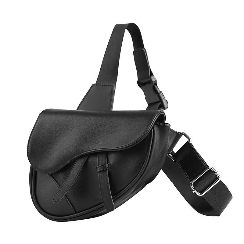 New Fashion Fanny Pack Banana Waist Bags Belt Bag Women Waist Bag Pack PU Leather Chest Bag Belly Bag Unisex Saddle Satchels