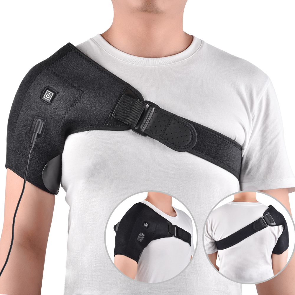 Adjustable Heat Therapy Shoulder Brace Health & Beauty