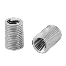 Stainless Steel Threaded Inserts Coiled Wire Helical Screw Thread M5 M6 M8 M10 For Connection 10/30/50/100pcs