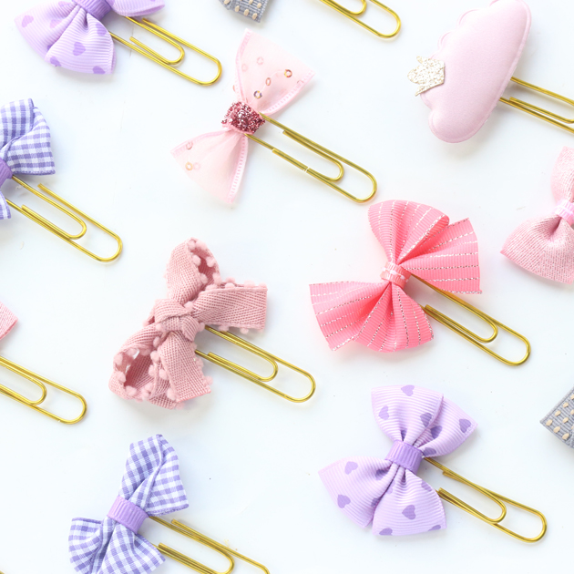 Domikee Cute Kawaii Korean Handmade Office School Index Paper Clips Bookmark Candy Girls Metal Memo Organizer Clips Stationery