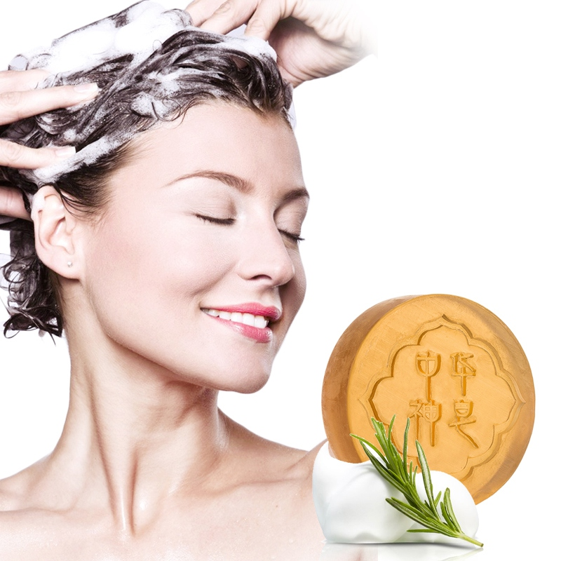 Anti-mites Facial Body Cleansing Soap Shrinking Pores Anti-acnes Oil-control Chinese God Soap